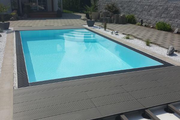 Polypropylen becken berlauf 6 3 2 1 5 pool pool berdachung whirlpools poolzubeh r - Pool polypropylen ...