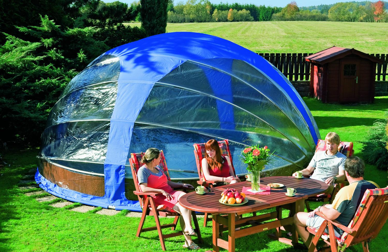 mobile berdachung 4 1 x 2 2m pool pool berdachung. Black Bedroom Furniture Sets. Home Design Ideas